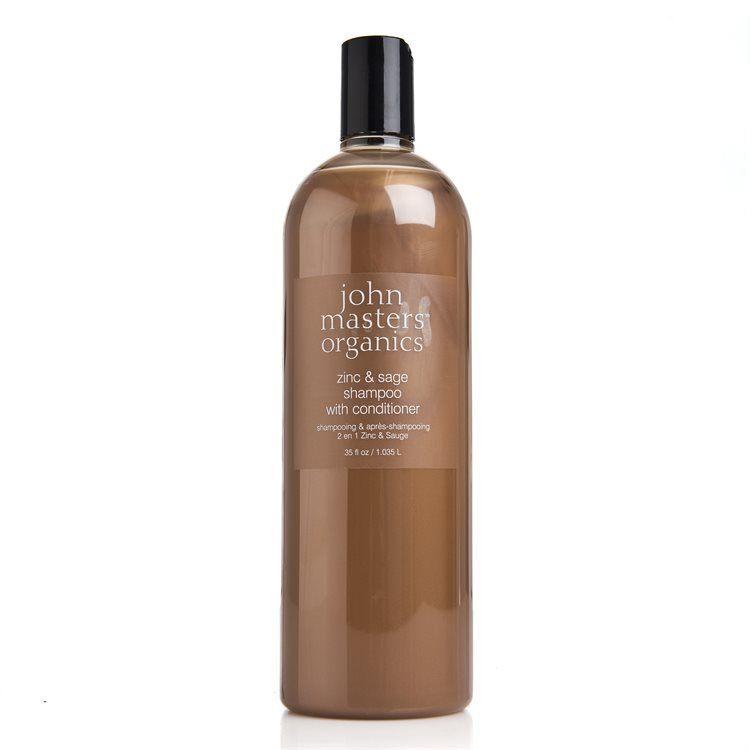John Masters Organics Zinc & Sage Shampoo & Conditioner 1000ml