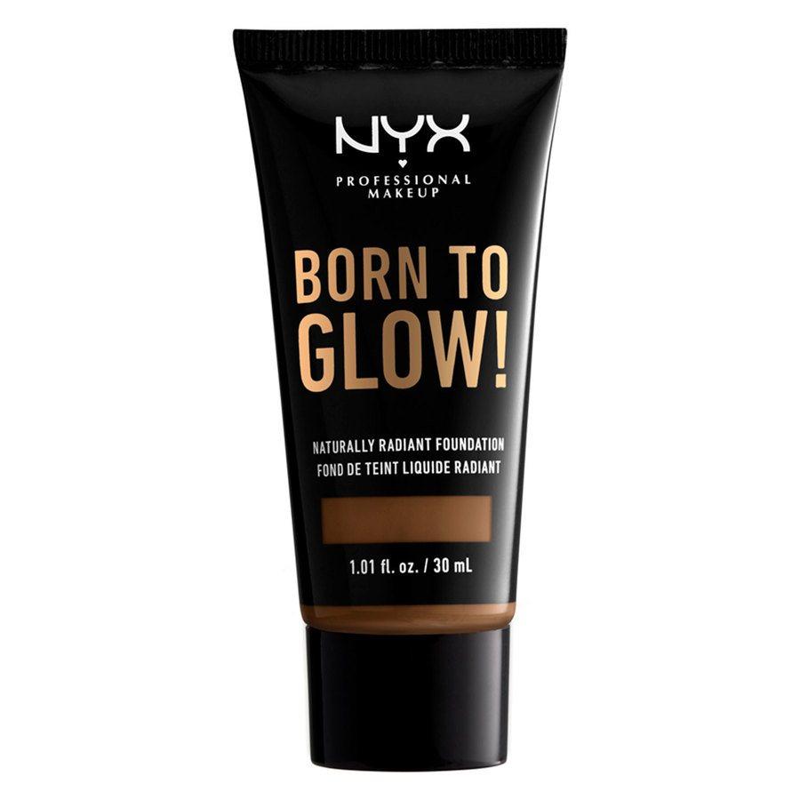 NYX Professional Makeup Born To Glow Naturally Radiant Foundation Mocha 30ml