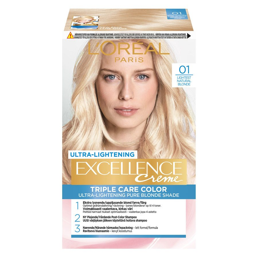 L'Oréal Paris Excellence Creme 01 Blonde Supreme Naturlig