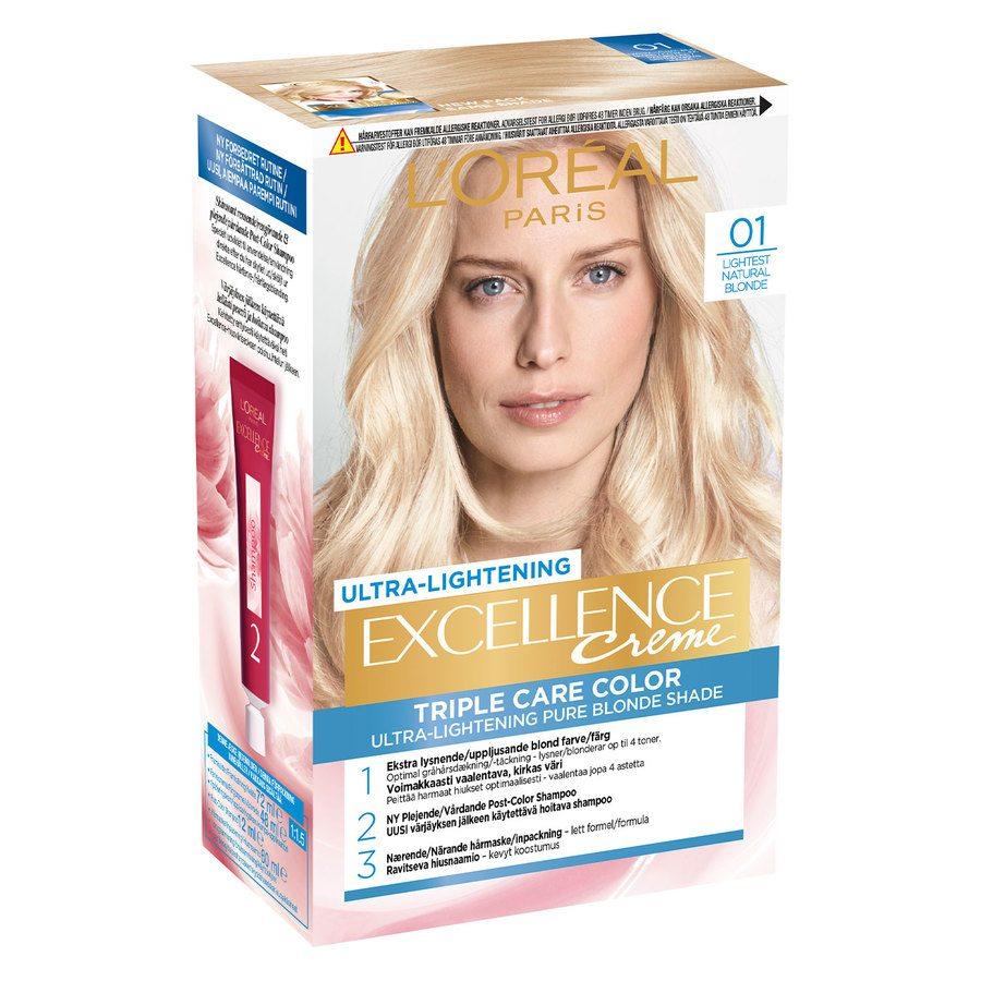 L'Oréal Paris Excellence Creme 01 Blonde Supreme Naturlig