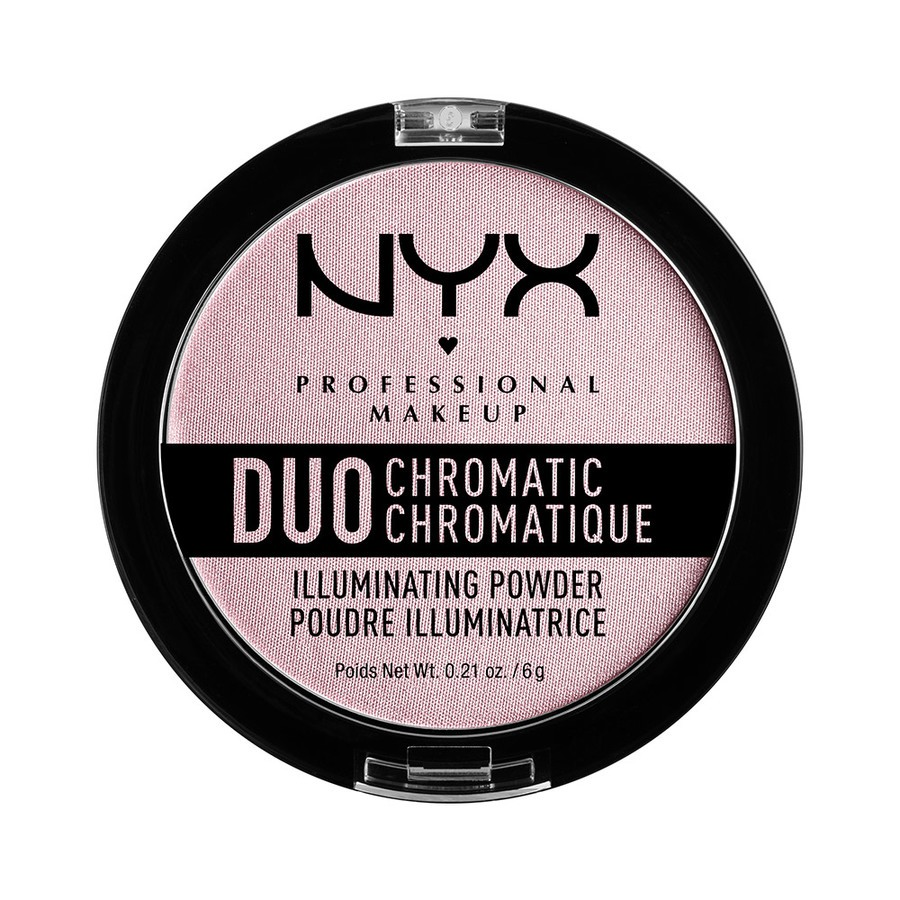 NYX Professional Makeup Duo Chromatic Illuminating Powder Lavender Steel DCIP02