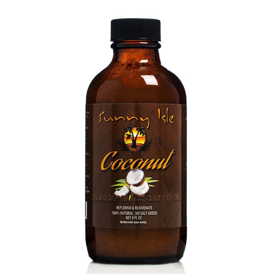 Sunny Isle Jamaican Castor Oil  Coconut Jamaican Black 118ml