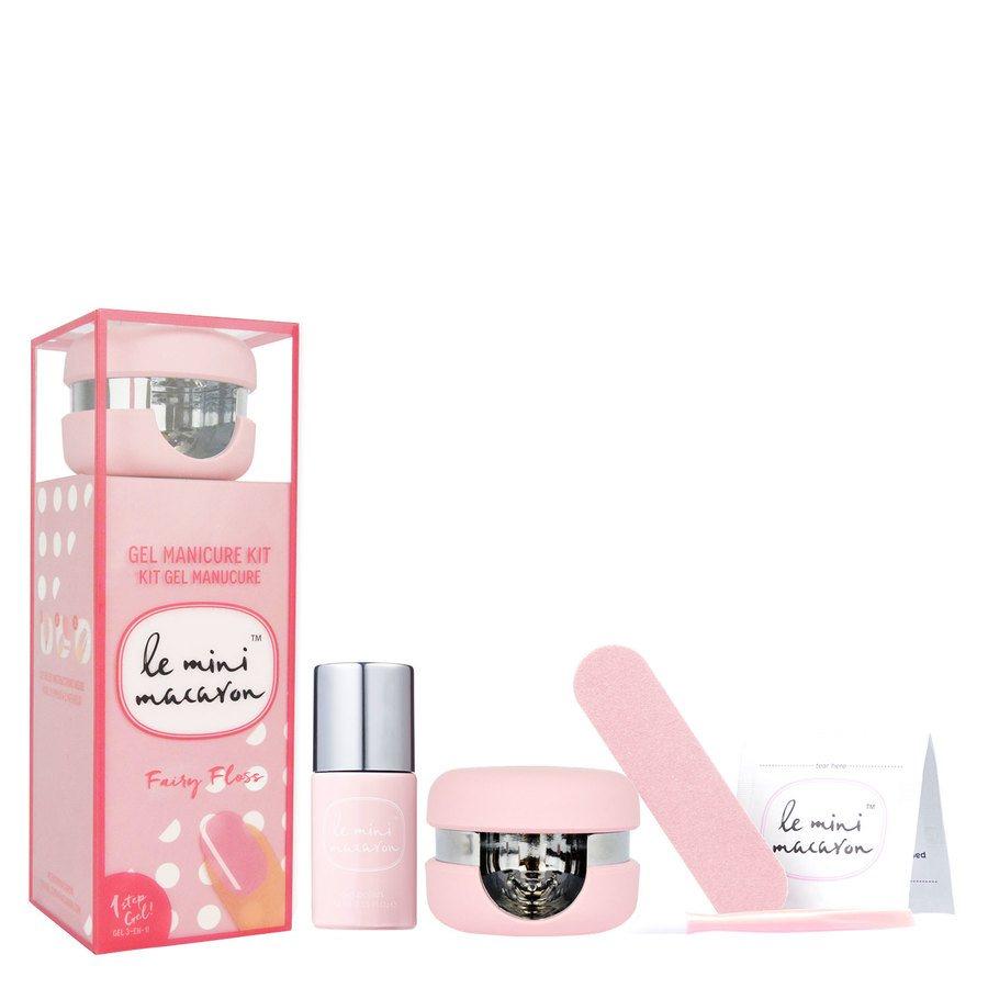 Le Mini Macaron Manicure Kit Fairy Floss
