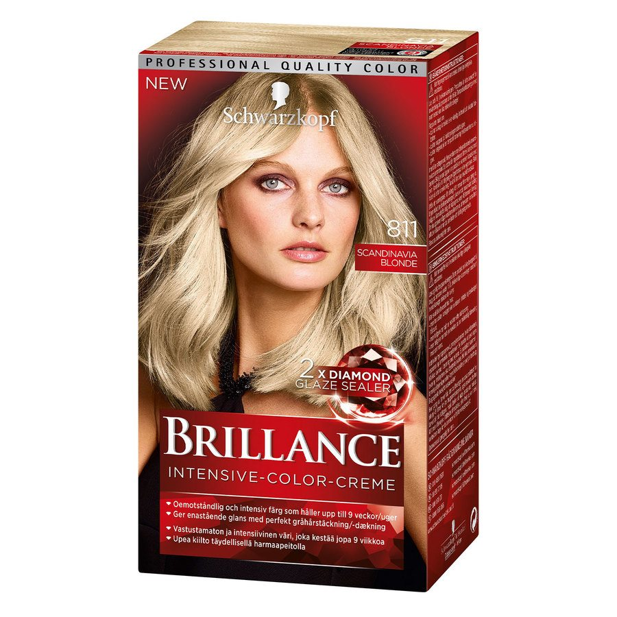 Schwarzkopf Brillance Intensive Color Creme 811 Scan Blond