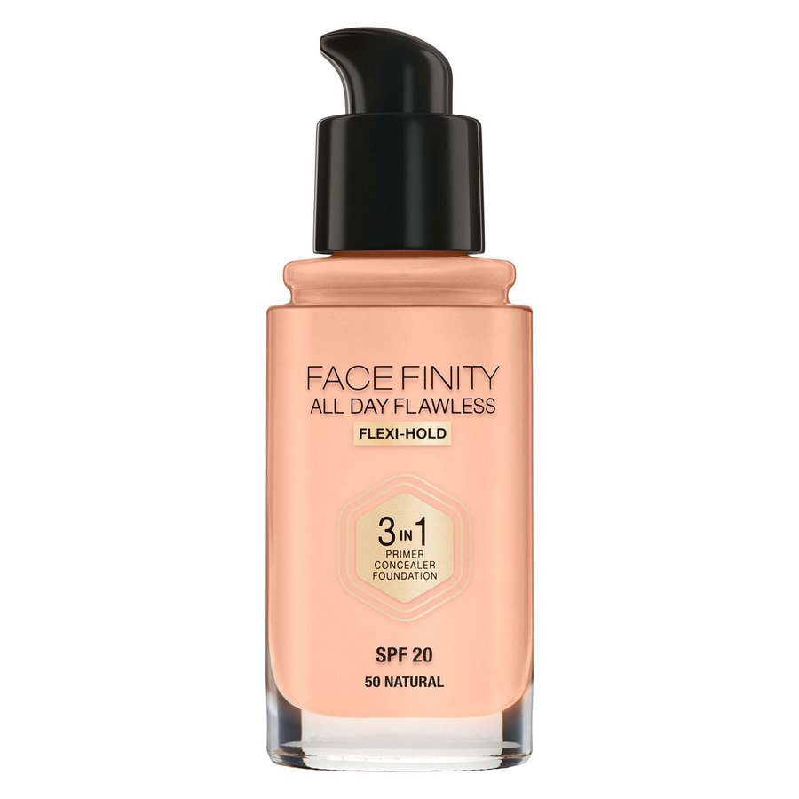 Max Factor Facefinity All Day Flawless 3-In-1 Foundation #50 Natural 30ml