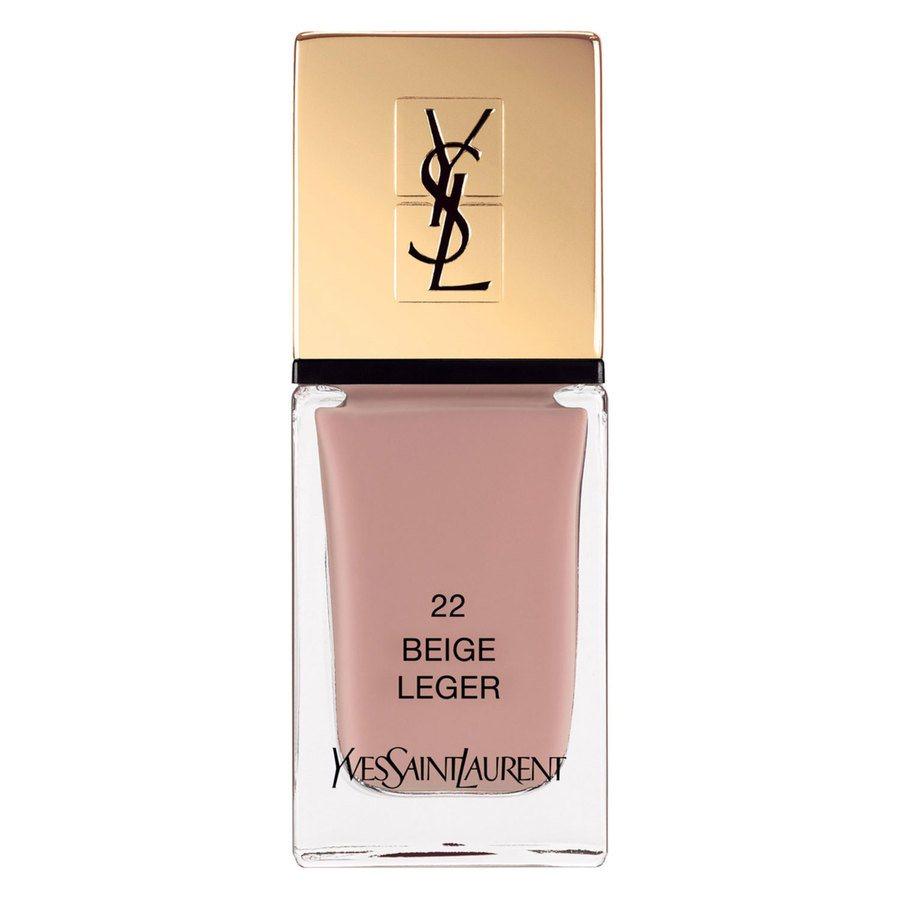 Yves Saint Laurent La Laque Couture Nail Lacquer #22 Beige Leger 10ml
