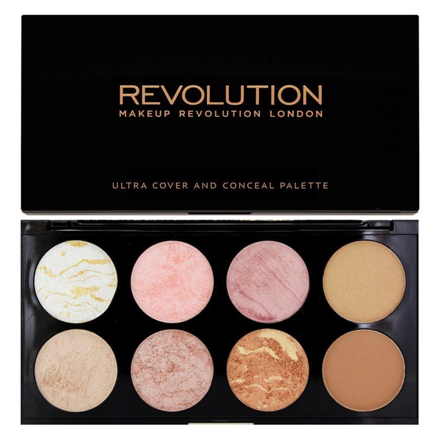 Makeup Revolution Blush Palette Golden Sugar 13g