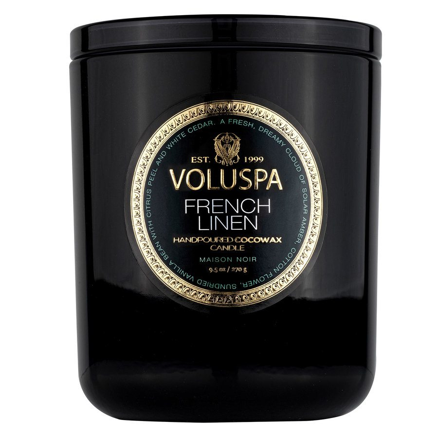 Voluspa Maison Classic Boxed Candle French Linen 270g