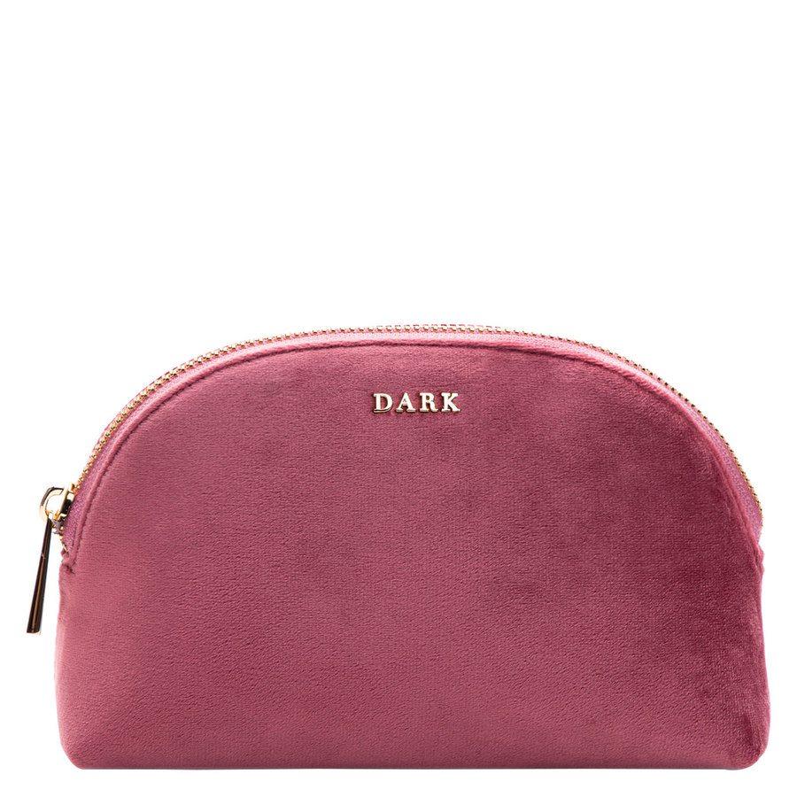DARK Velvet Make-Up Pouch Dusty Rose
