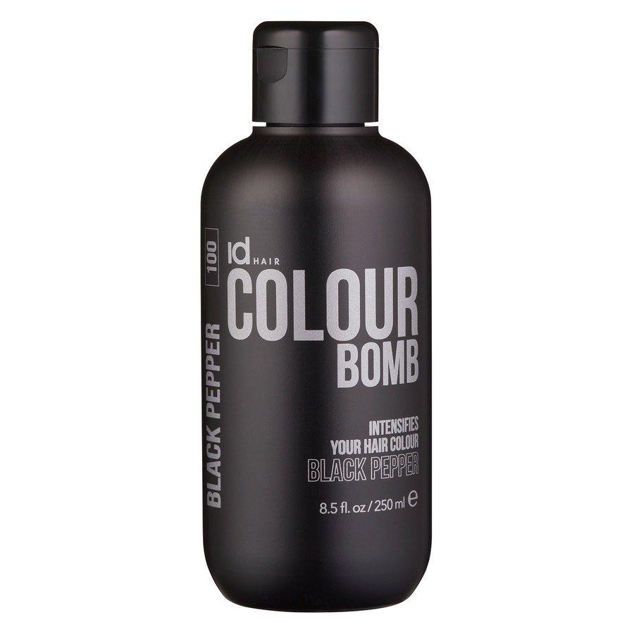 Id Hair Colour Bomb Black Pepper 250ml