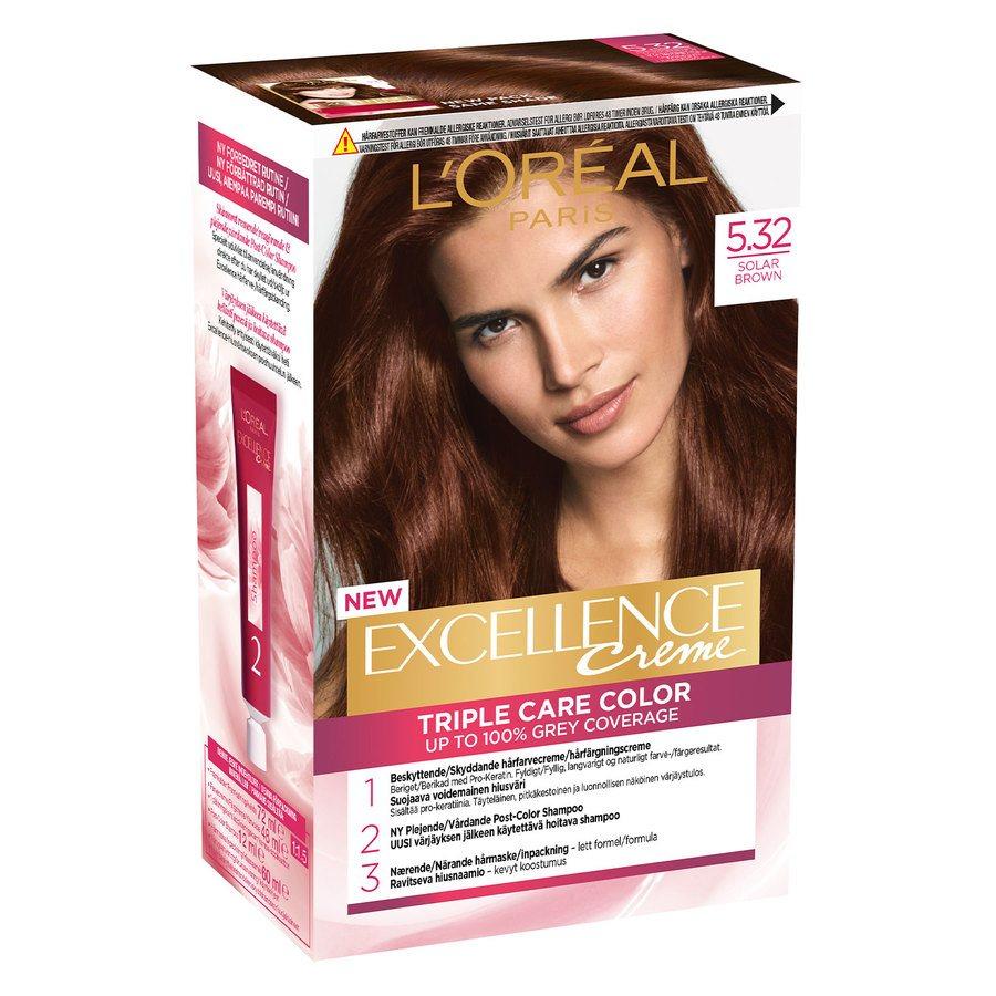 L'Oréal Paris Excellence Creme 5,32 Solbrun