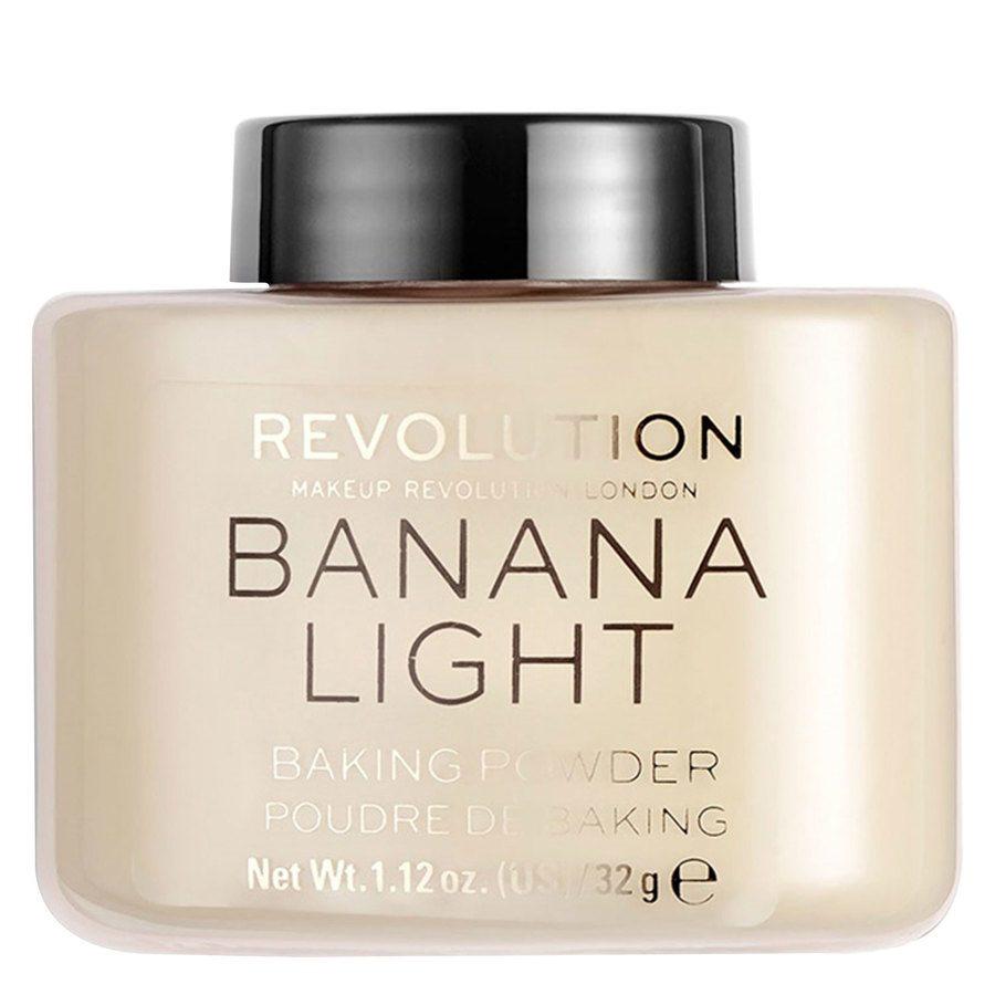 Makeup Revolution Loose Baking Powder Banana Light