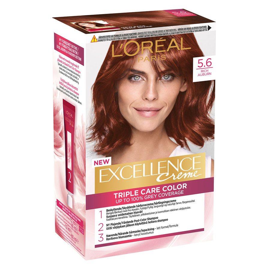 L'Oréal Paris Excellence Creme 5,6 Rich Auburn