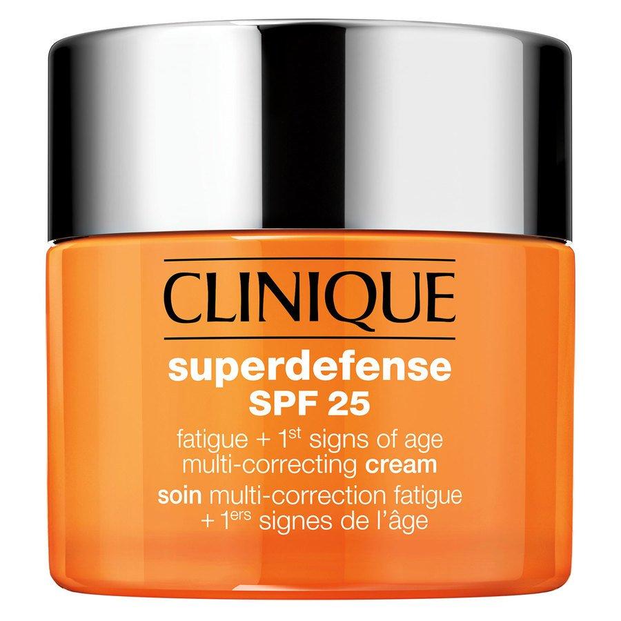 Clinique Superdefense SPF25 Fatigue + 1st Signs Of Age Multi-Correcting Cream Skin Type 3+4 50ml