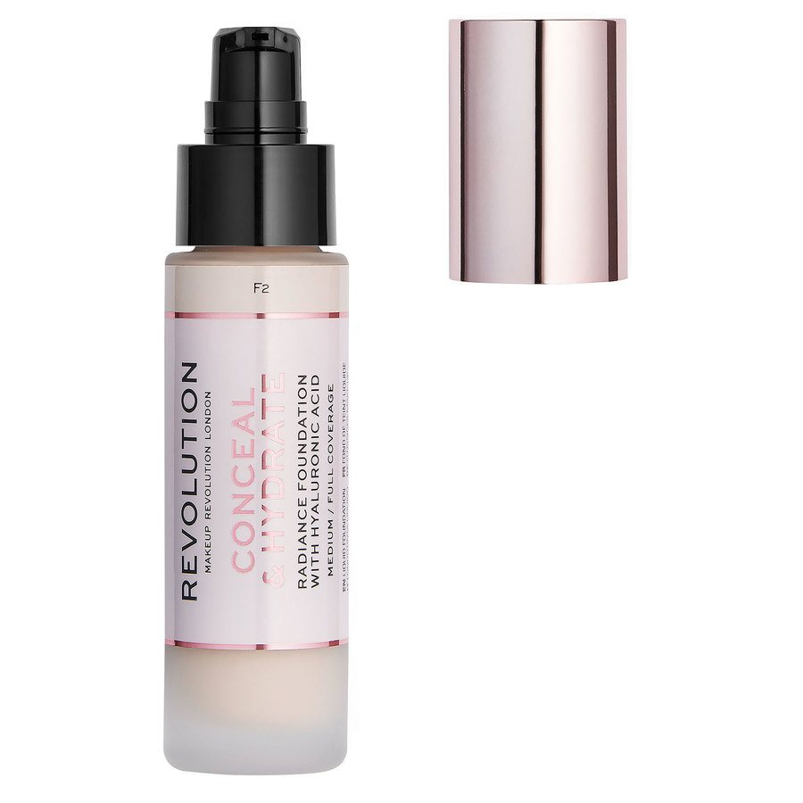 Makeup Revolution Conceal & Hydrate Foundation F2 23ml