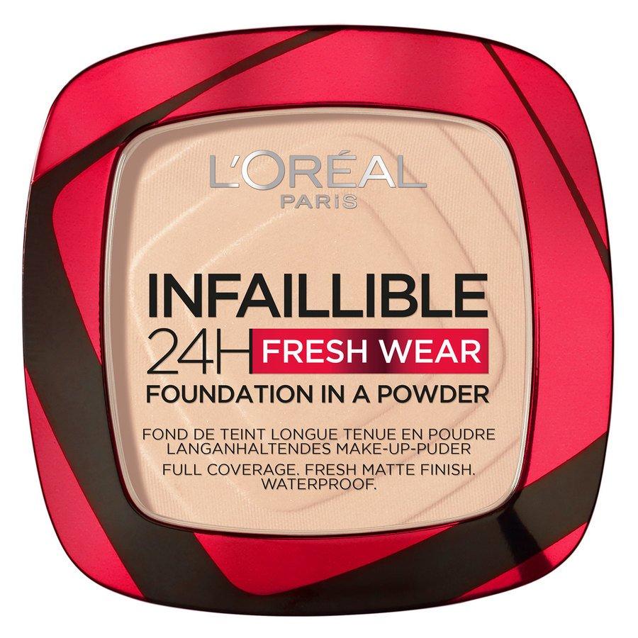 L'Oréal Paris Infaillible 24H Fresh Wear Foundation In A Powder Ivory 9g