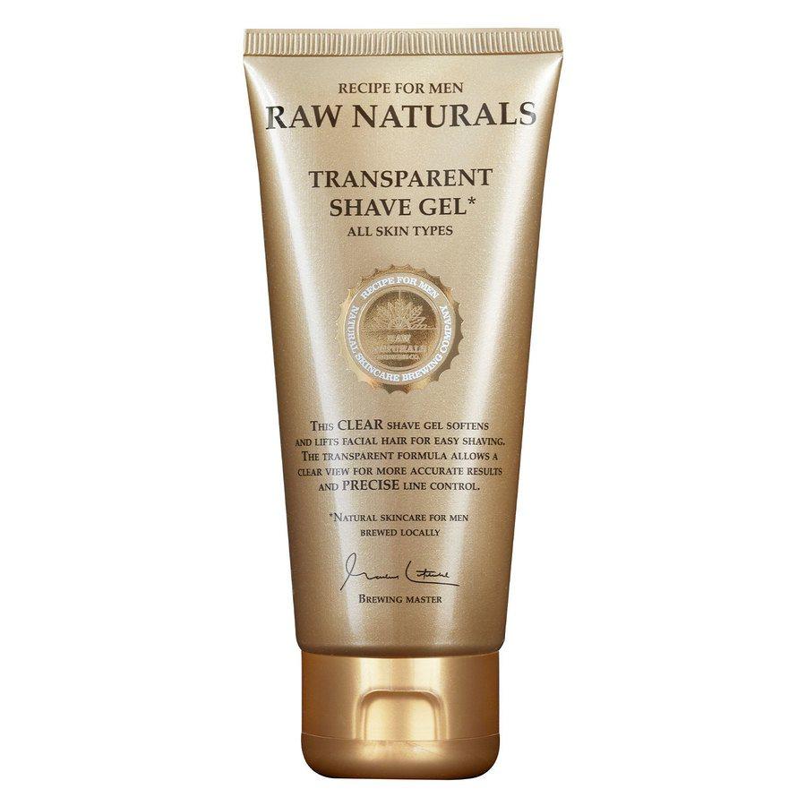 Raw Naturals Transparant Shaving Gel 100ml