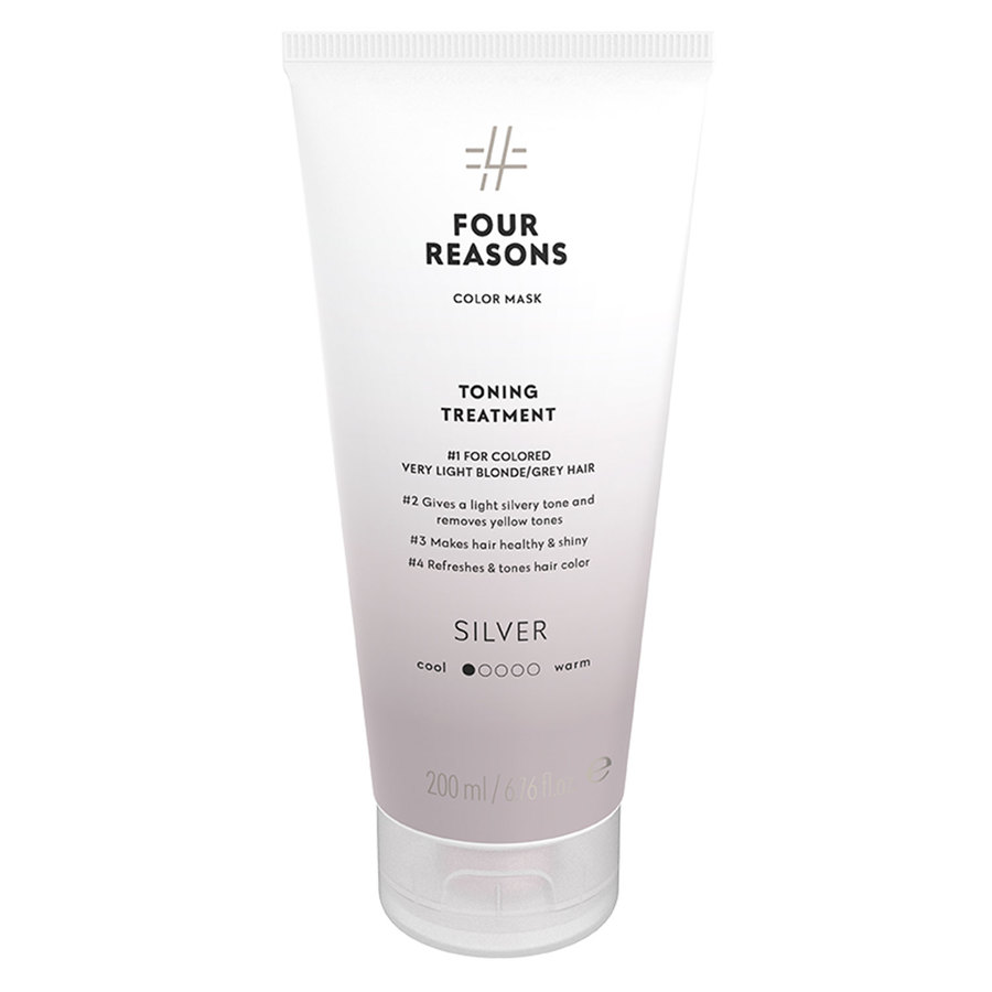 Four Reasons Color Mask Toning Treatment Silver 200ml