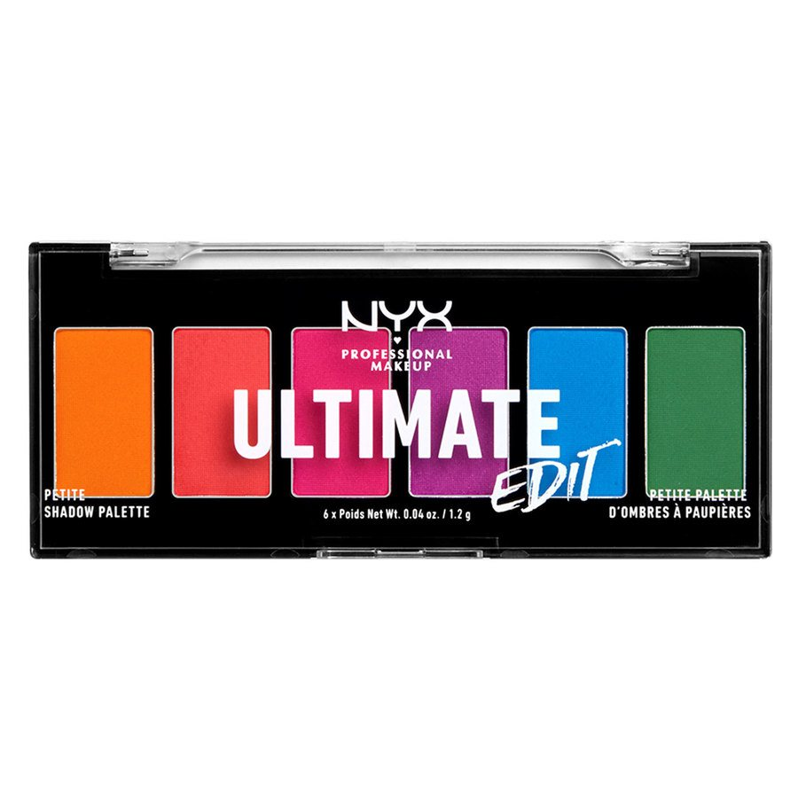 NYX Professional Makeup Ultimate Edit Petite Shadow Palette 02 Brights 7,2gr