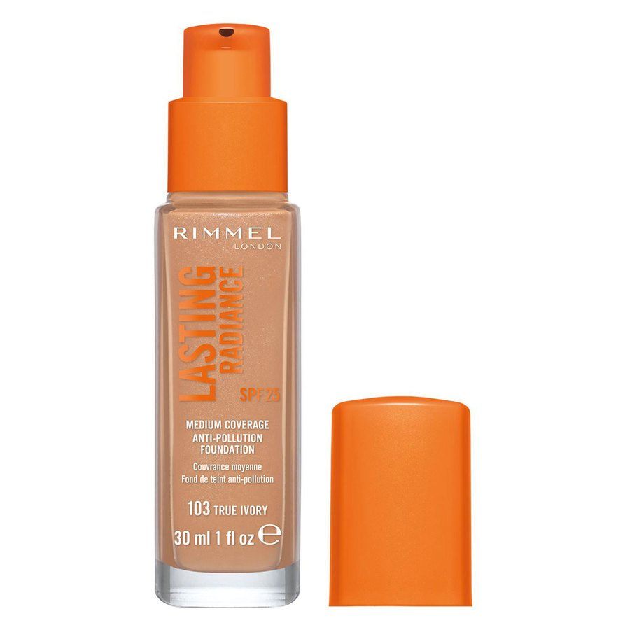 Rimmel London Lasting Radiance Foundation #103 True Ivory 30ml