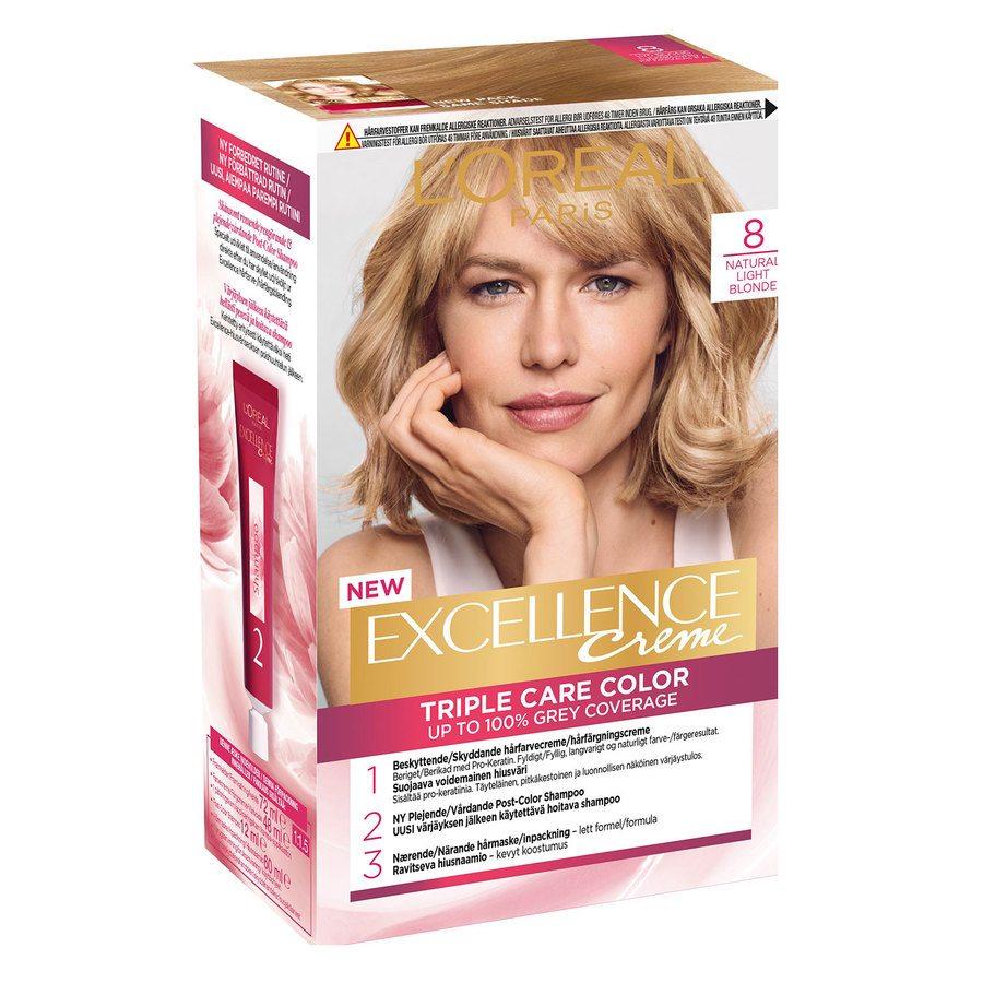 L'Oréal Paris Excellence Creme 8 Lys Blond