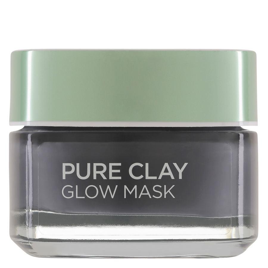 L'Oréal Paris Pure Clay Glow Mask Black 50ml