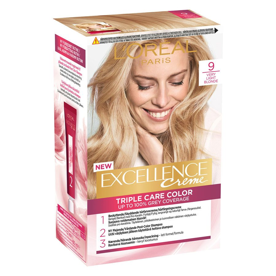 L'Oréal Paris Excellence Creme 9 Meget Lys Blond