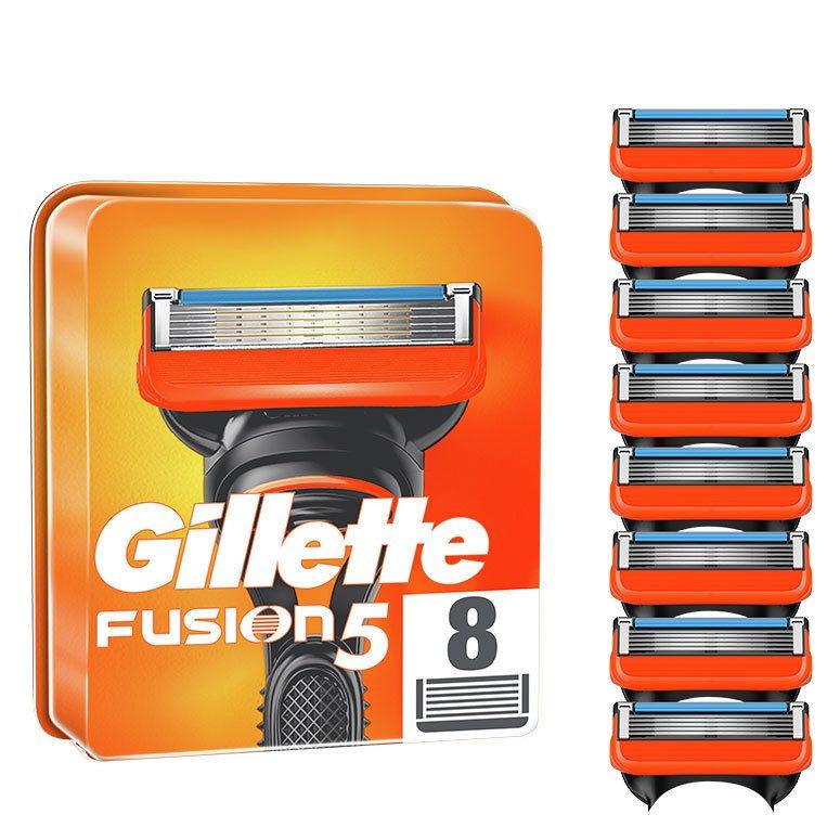 Gillette Fusion5 Men's Razor Blade Refills 8pcs