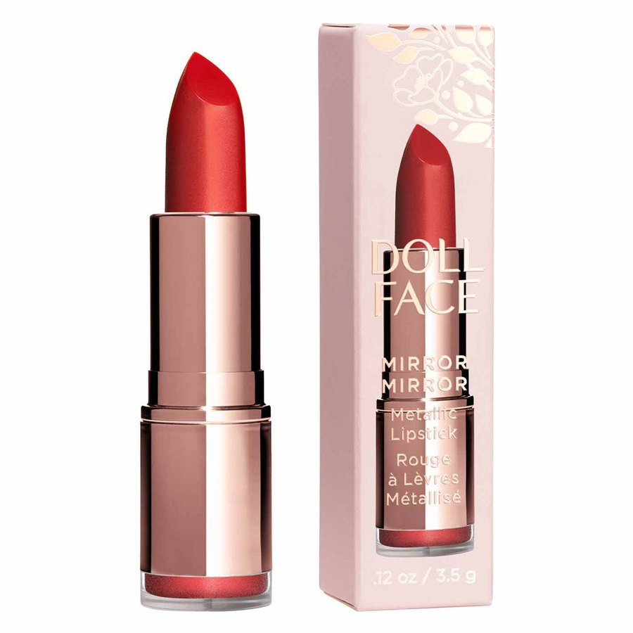 Doll Face Mirror Mirror Metallic Lipstick Charmed 3,4g