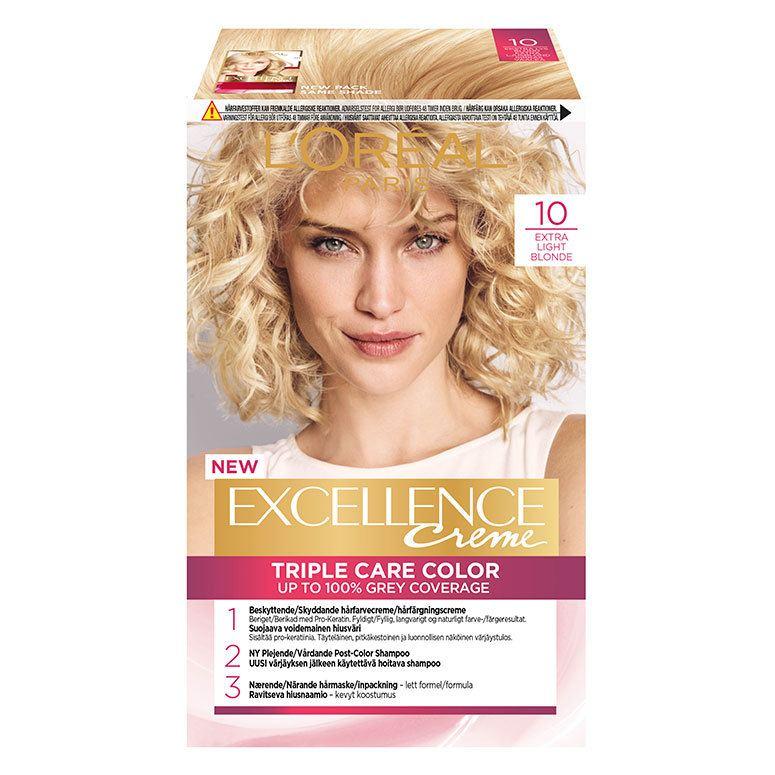 L'Oréal Paris Excellence Creme 10 Ekstra Lys Blond