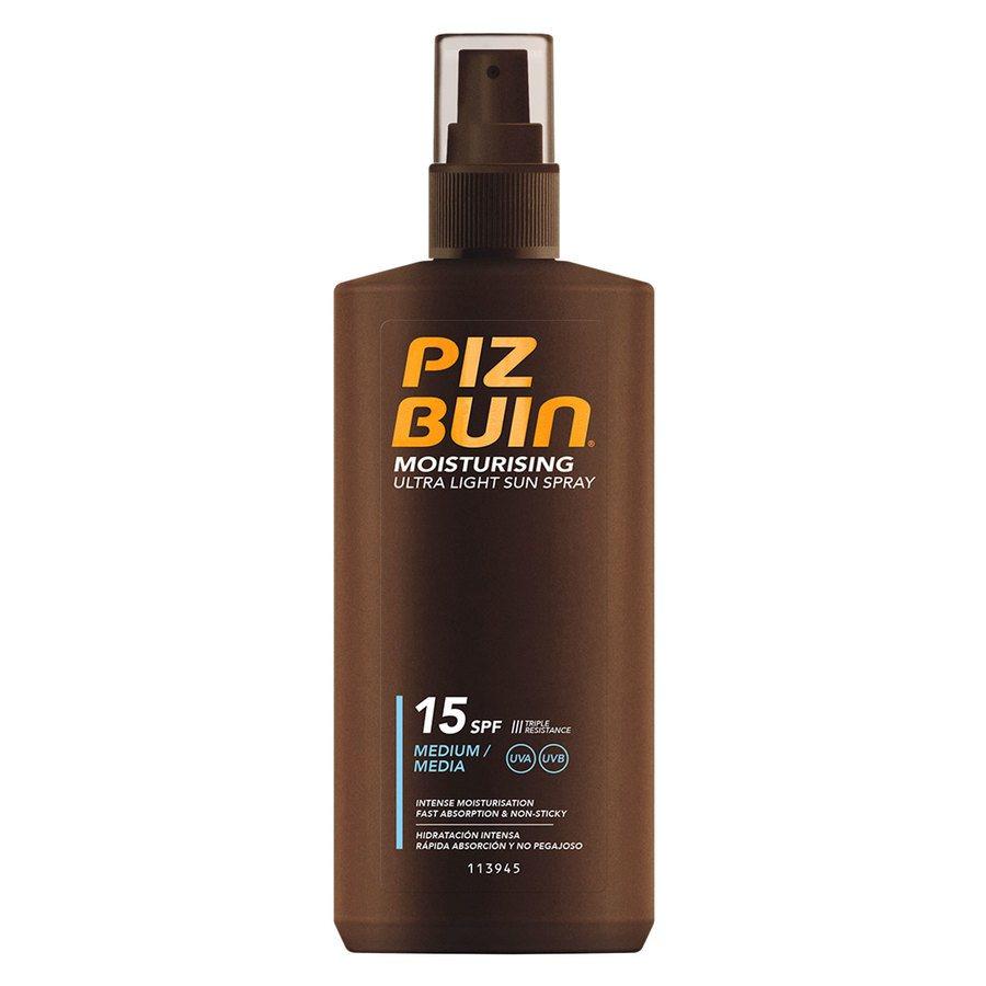 Piz Buin Moisturizing Ultra Light Lotion Spray SPF15 200ml