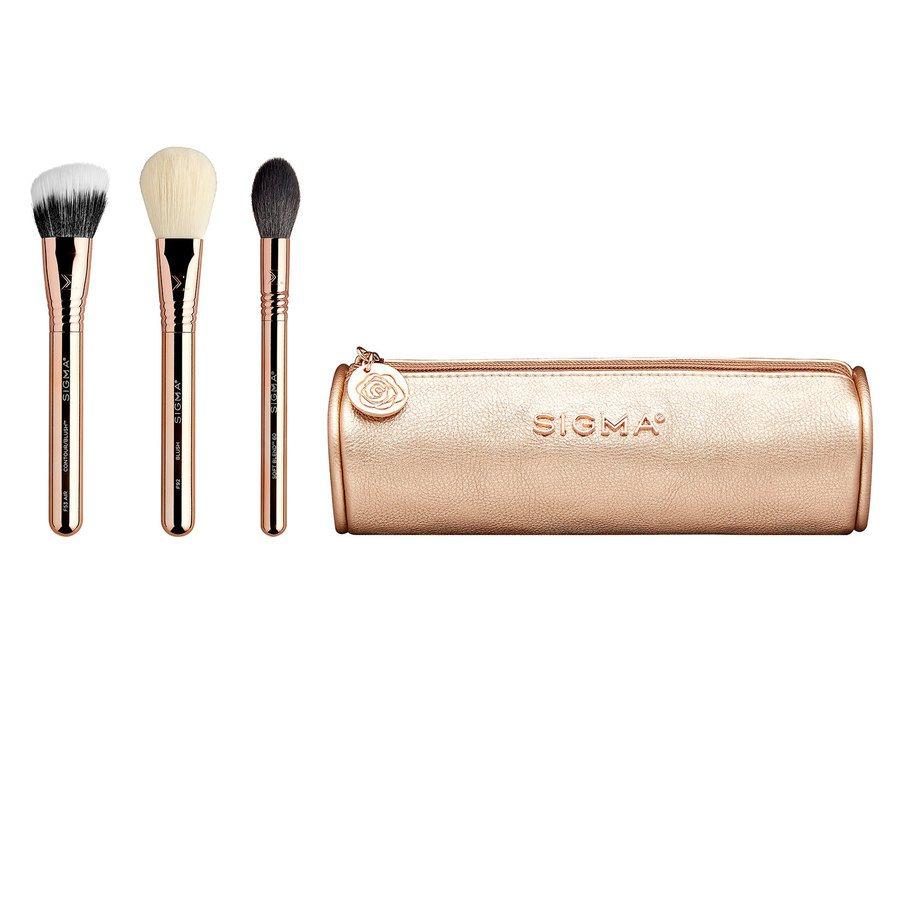 Sigma Bloom + Glow Brush Set 4pcs