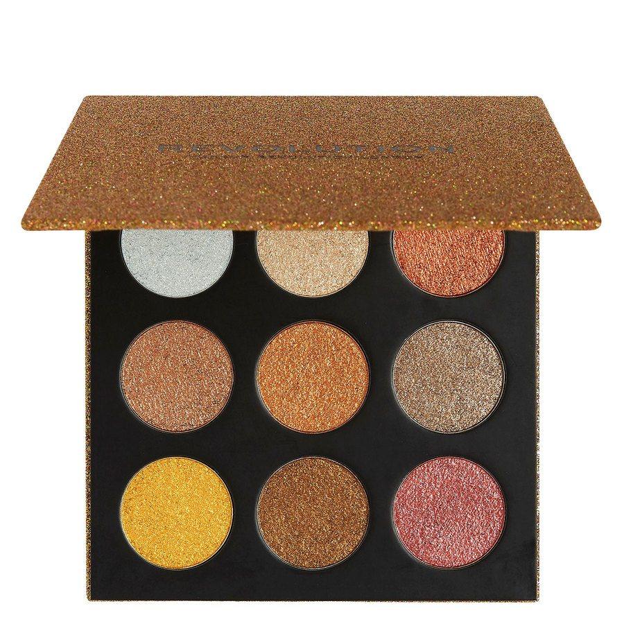 Makeup Revolution Euphoric Foil Eyeshadow Palette Sparkle Up 18,9g