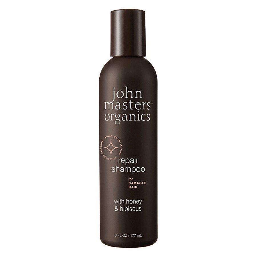 John Masters Organics Repair Shampoo For Damaged Hair With Honey & Hibiscus 177ml