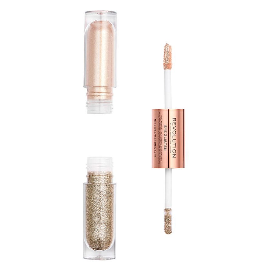 Makeup Revolution Eye Glisten Foil And Glitter Liquid Eyeshadow It's Fate 2x2,2ml