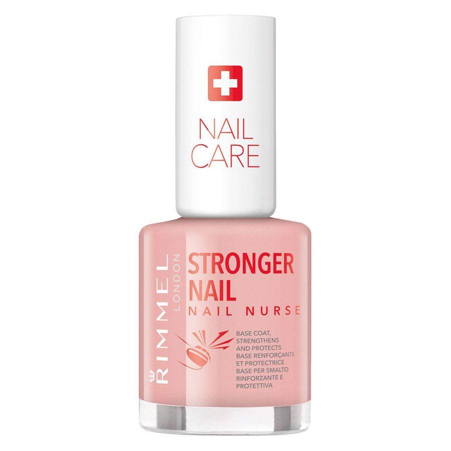 Rimmel Stronger Nail Nurse Base Coat Nail Polish Transparent 12ml