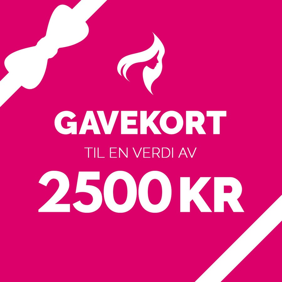 Gavekort – 2500,-