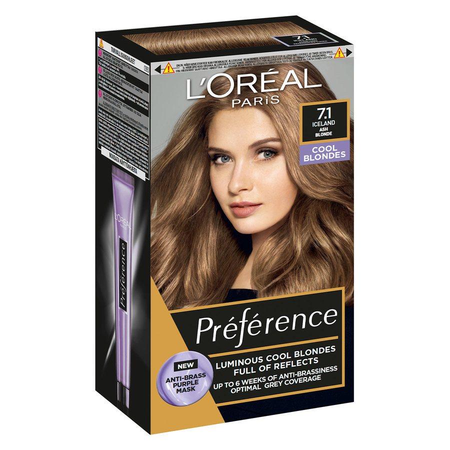 L'Oréal Paris Préférence Core Récital 7.1