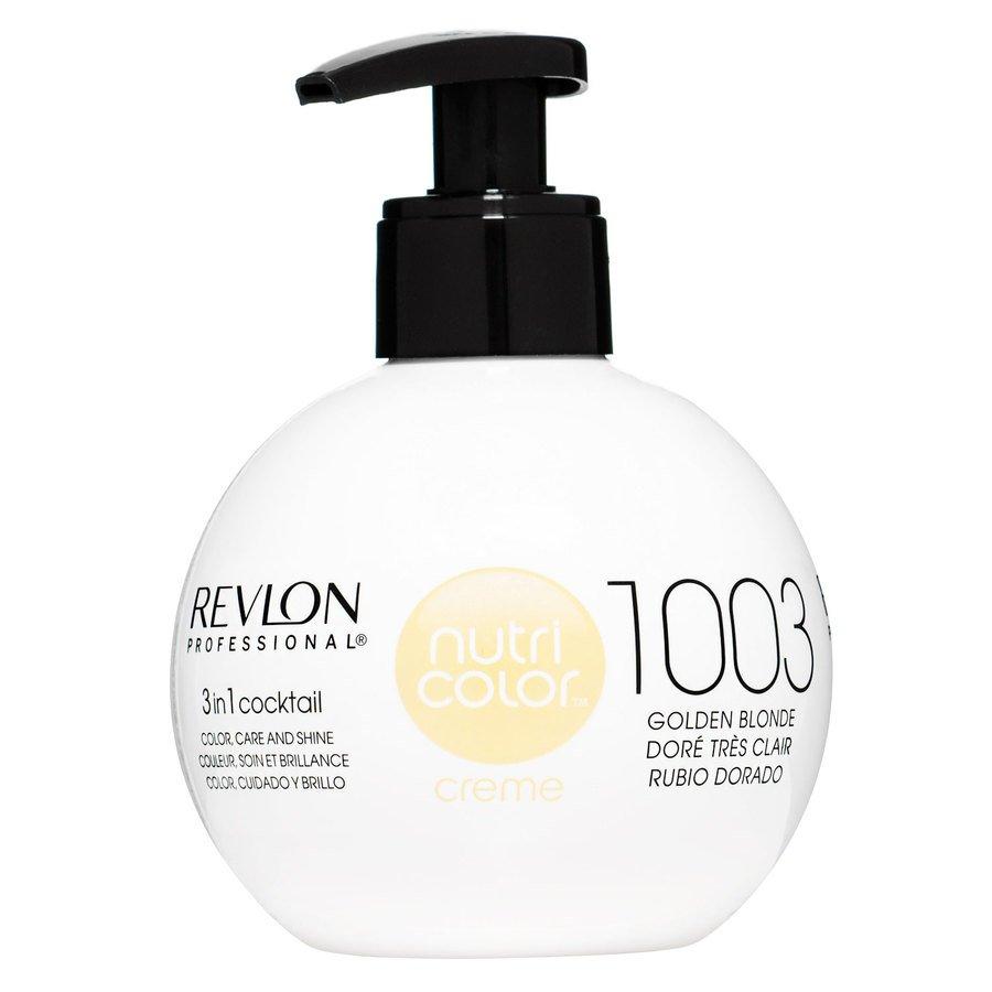 Revlon Professional Nutri Color Creme #1003 Pale Gold 270ml