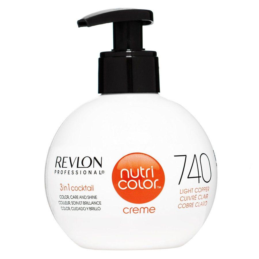 Revlon Professional Nutri Color Creme #740 Light Copper 270ml