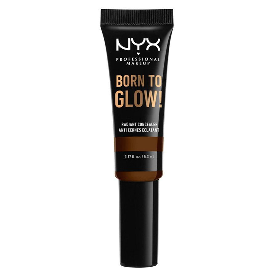 NYX Professional Makeup Born To Glow Radiant Concealer Walnut 5,3ml