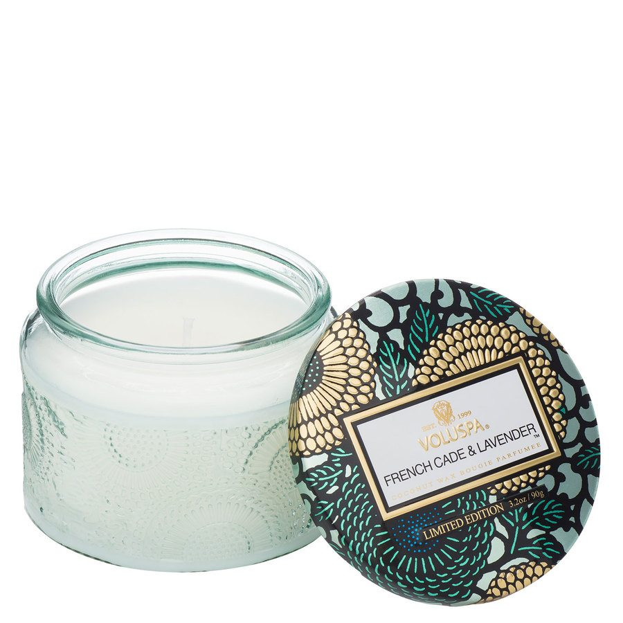 Voluspa Small Glass Jar Candle French Cade & Lavender 90g