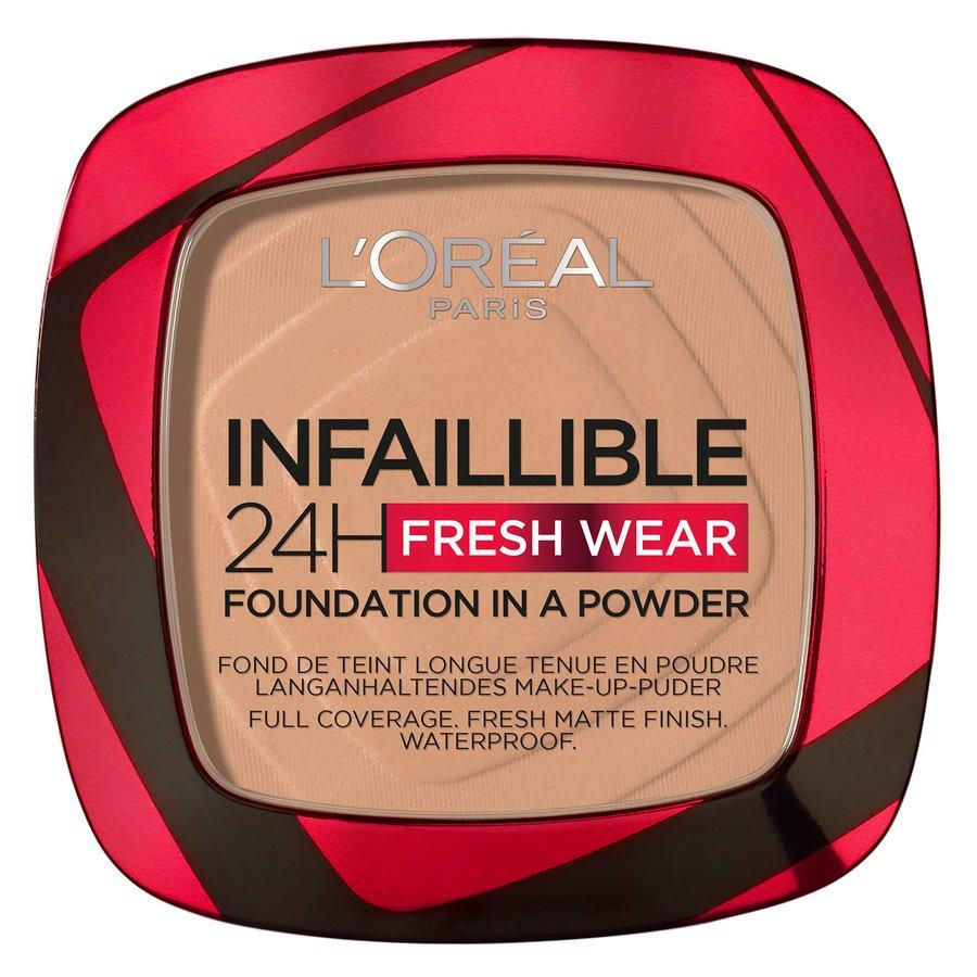 L'Oréal Paris Infaillible 24H Fresh Wear Foundation In A Powder Sand 9g