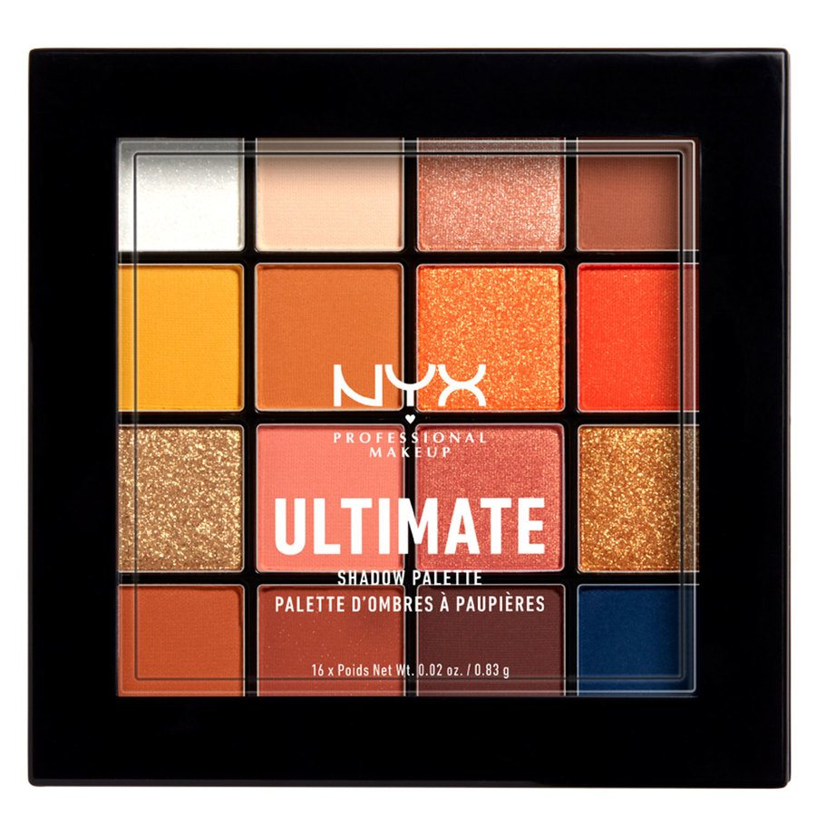 NYX Professional Makeup Ultimate Shadow Palette Escape Artist 16x0,83g
