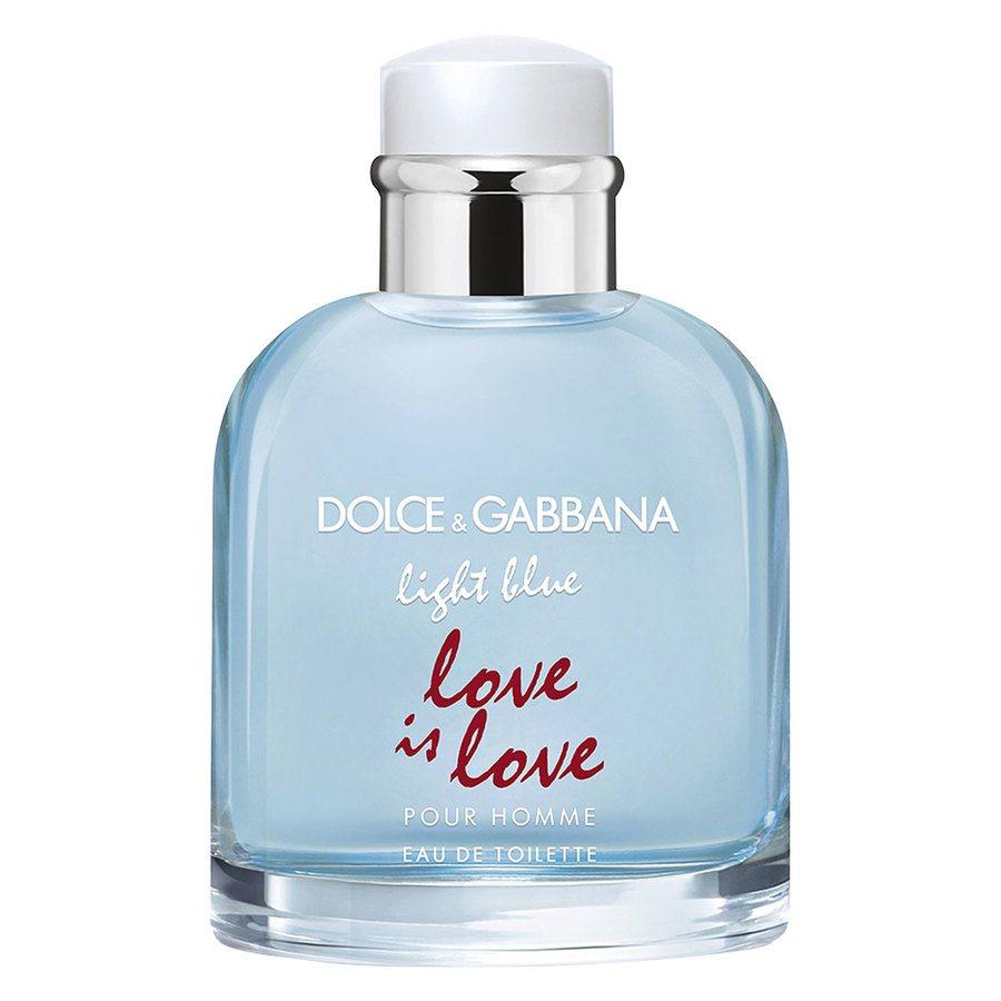 Dolce & Gabbana Light Blue Pour Homme Love Is Love Eau De Toilette 125ml