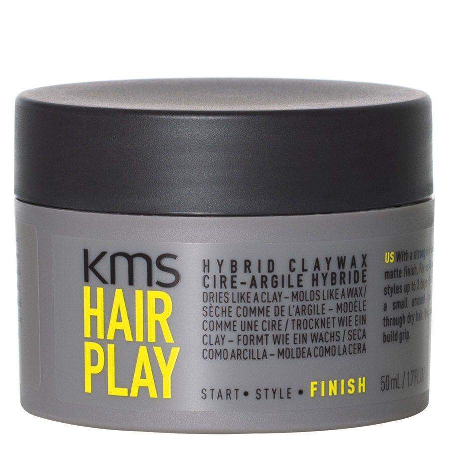 KMS Hairplay Hybrid Claywax 50ml