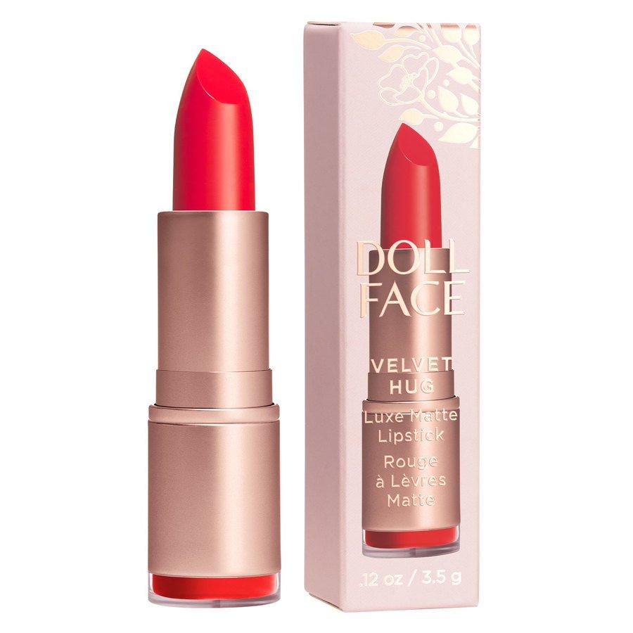 Doll Face Velvet Hug Luxe Matte Lipstick Amore 3,4g