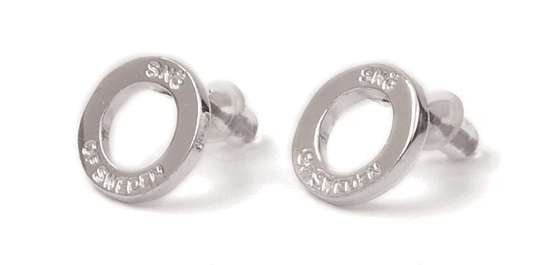 Snö Of Sweden Hege Small Earring Silver 12mm