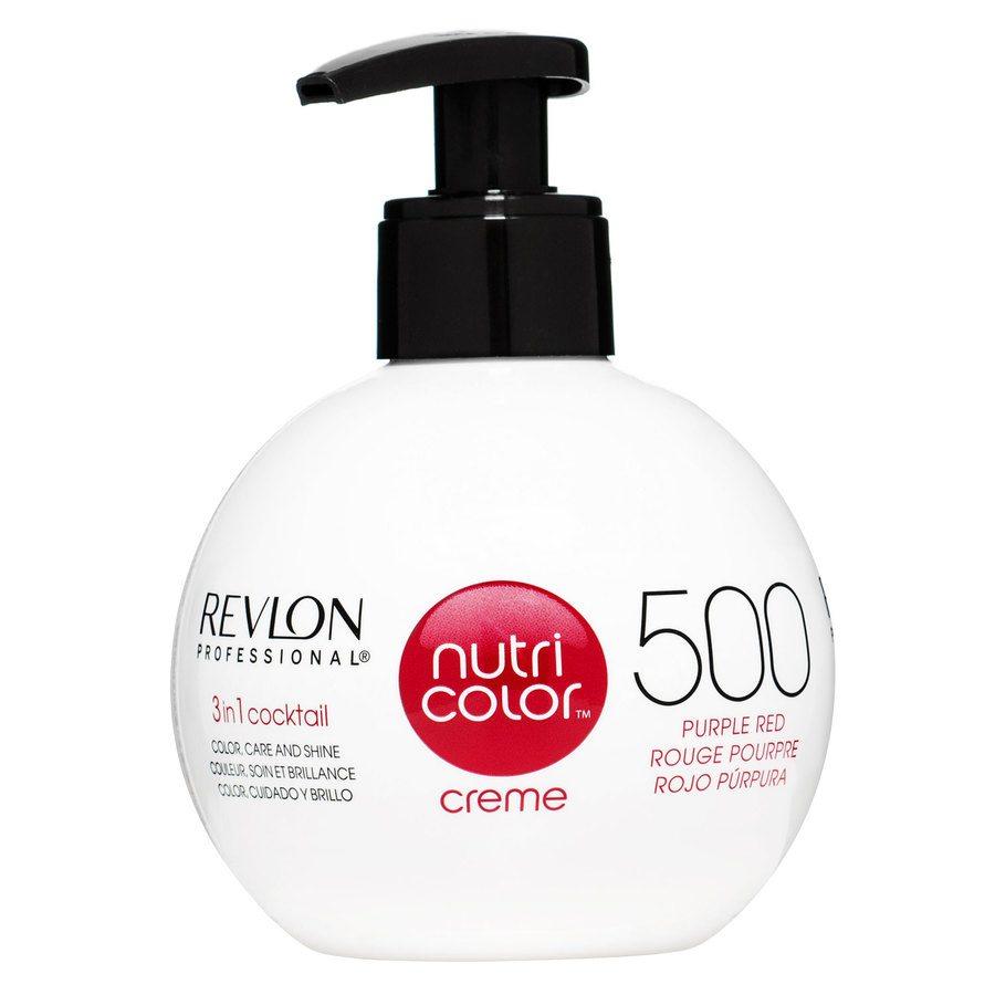 Revlon Professional Nutri Color Creme #500 Purple Red 270ml