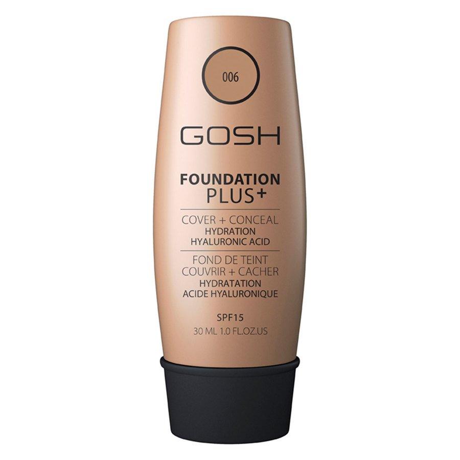 GOSH Foundation Plus+ #006 Honey 30 ml